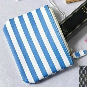 Mollie Jacob Zippered Pouch clutch CHIC Nautical S